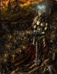 Morgoth y su Hueste by D3SMMUN