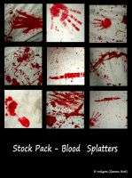 Stock Pack - Bloody Splatters by rockgem