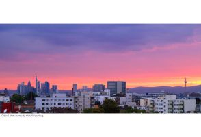 Frankfurt Sunset by Panomenal