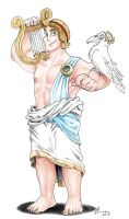 Apollo - Gods of Olympus by LorenzoLivrieri