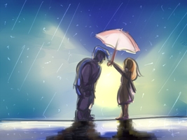 AW: Umbrellas make me look silly by Eoko