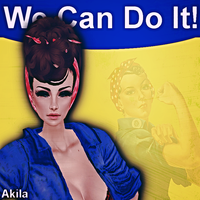 Rosie The Riveter IMVU by TwistedElagence