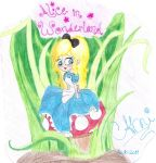 Alice in Wonderland by CamiGDrocker