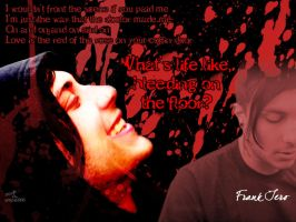 Bloody Hell... frank iero by empie666