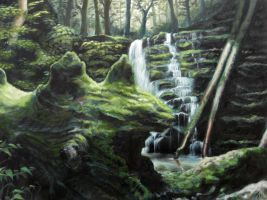 grotto by lancer-idenoure