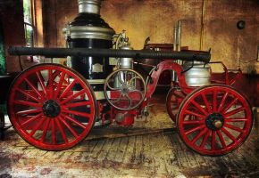 Vintage Fire Engine by muffet1
