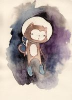 SpaceCat by m3ow
