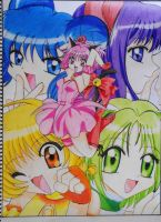 Tokyo Mew Mew FINISHED 200th Devianation :D by Sherlock3000
