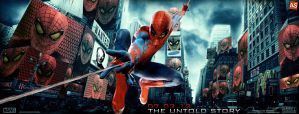 ''the Amazing Spider-Man'' - movie banner by AndrewSS7