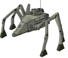 Armored Walker Concept by wbd