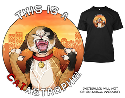 PUNderful CATastrophe T-shirts/hoodies! by ProxyComics