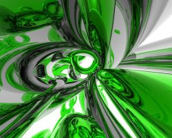 Green and Silver by BaTTleSaGe