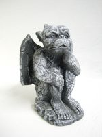 Gargoyle stock 02 by thiselectricheart