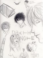 Death Note Doodles by dramaelfie