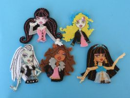 Monster High de Fieltro 2 by Conhiloytelas