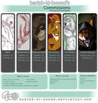 Commissions - (taking a select few) - June '14 by barish-ki-boond