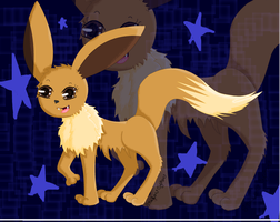 -{Eevee}- by Shadow-Cipher