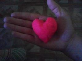 holding my heart in my hand by hiidee