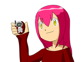 Yui Digivice by Anastasia14-chan
