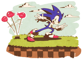 Sonic vintage! by psln
