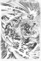 Legion 15 cover pencils by Cinar