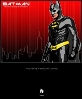 The caped crusader by TriVector