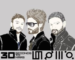 30 Seconds to Mars by noravalo