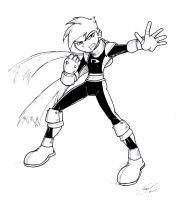 Danny Phantom Sketch 2007 by NewEraOutlaw