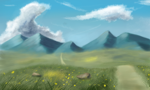 Landscape #1 by Sycreon