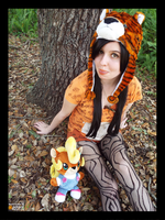 (Crash Bandicoot) Pura the Tiger Cosplay by KrazyKari