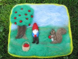 Apple Picking by Elfs-Toyshop