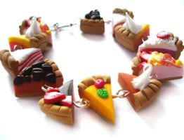 pie slice bracelet by geurge
