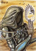 ACEO trade: Shiar-Garau by VentralHound