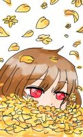 Chara: So many golden flowers by Siomie