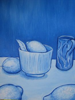Blue still Life by LucyofChaos