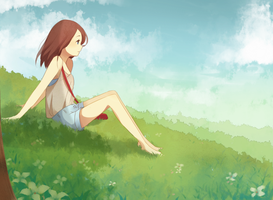 Meadow by jauni