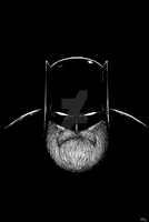 Batman Has a Beard Again by Vanjamrgan