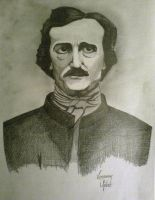 Tribute:'Edgar Allan Poe' by VenomousMister