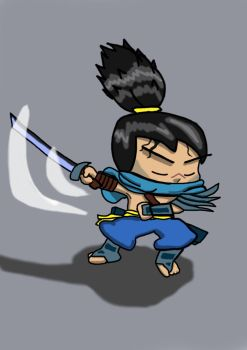 Yasuo by KyleTheLost