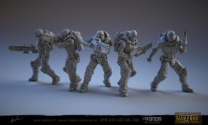 Warzone Resurrection Airborne by kazube