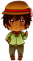 [HETAOC] Paraguay Chibi by melonstyle