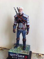 The Witcher 3: Wild Hunt figure Geralt of Rivia by 111max222