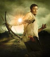 Daryl Dixon Crossbow action by kalianalyticaldevine