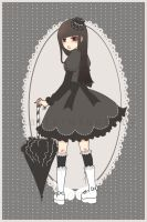 . gothic 09 - ae print . by patternfactory