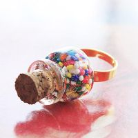 Sprinkle Bottle Ring by asunder