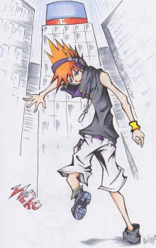 Neku Sakuraba by PulpFiction99