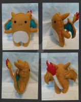 Charizard Plush by cindalu