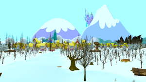 ED+ Ponyville Winter by EDplus