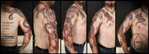 Mammen wolf, by Peter Blackhand by Meatshop-Tattoo