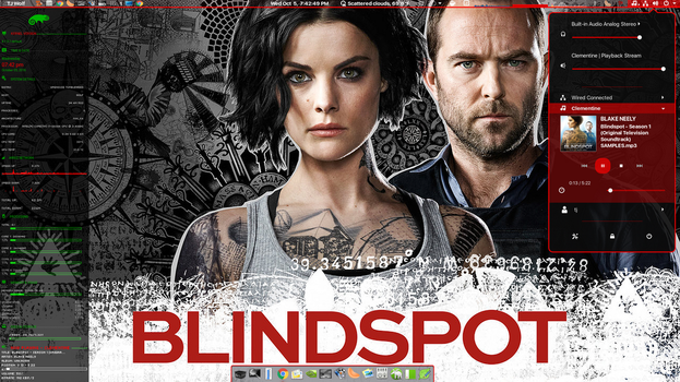 Blindspot - Wednesday theme by TJ-Wolf
